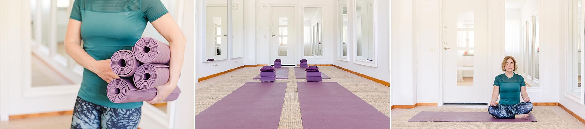 Yoga och lokalen på Urban Paleo i Uppsala